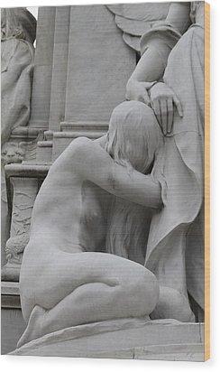Sadness Wood Print by Steve K