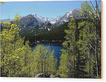 Spring At Bear Lake Wood Print by Tranquil Light  Photography