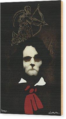Vampyre... Wood Print by Will Bullas