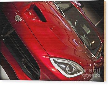 2013 Dodge Viper Srt Wood Print by Kamil Swiatek