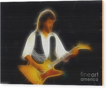 38 Special-94-jeff-gc25-fractal Wood Print by Gary Gingrich Galleries