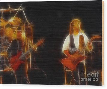 38 Special-94-larry N Jeff-gb20a-fractal Wood Print by Gary Gingrich Galleries