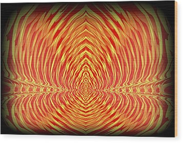 Abstract 98 Wood Print by J D Owen