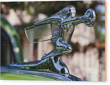 41 Packard Badge Wood Print by Alan Look
