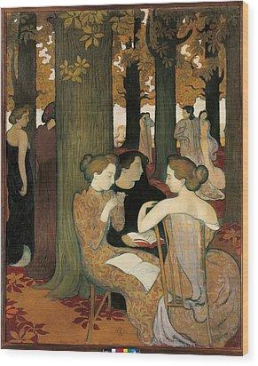France, Ile De France, Paris, Muse Wood Print by Everett
