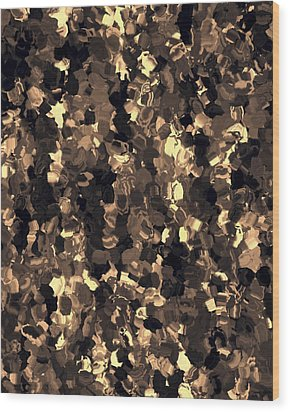 Abstract Wood Print by Lee Ann Asch