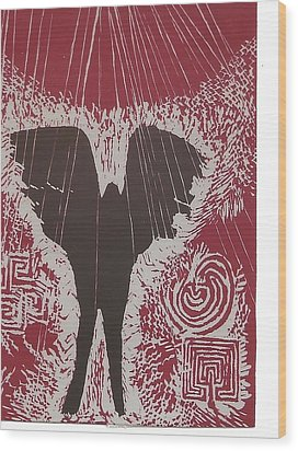 7.the Sun Wood Print by Mollie Townsend