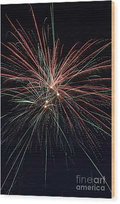 Independence Day Wood Print by Matt  Davis