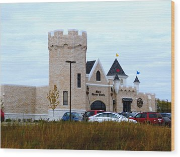 A Cheese Castle Wood Print by Kay Novy