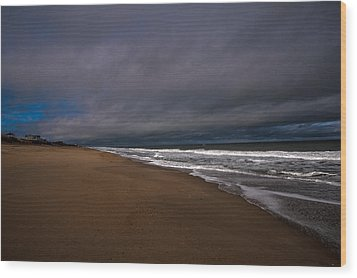A Patch Of Blue Wood Print by John Harding Photography