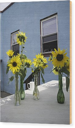 A Sunny Day Wood Print by Michael Glenn
