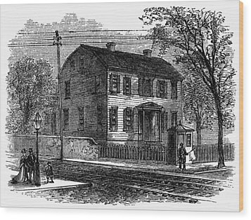 Aaron Burr Birthplace Wood Print by Granger