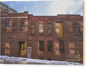 Abandoned Wood Print by Diane Diederich