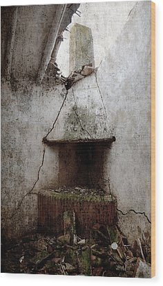 Abandoned Little House 2 Wood Print by RicardMN Photography