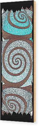Abstract Fusion 231 Wood Print by Will Borden