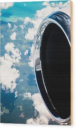 Tropical Skies Wood Print by Parker Cunningham