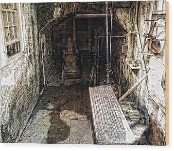 Alcatraz Island Morgue Wood Print by Daniel Hagerman