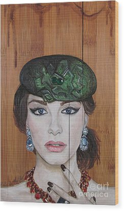 All That Girls Love 2 Wood Print by Malinda  Prudhomme