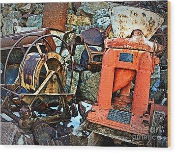 Allis Chalmers 1898 Wood Print by Lee Craig