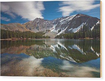 Alta Lakes Wood Print by Darren  White