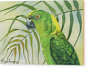 Amazon Wood Print by Lyse Anthony