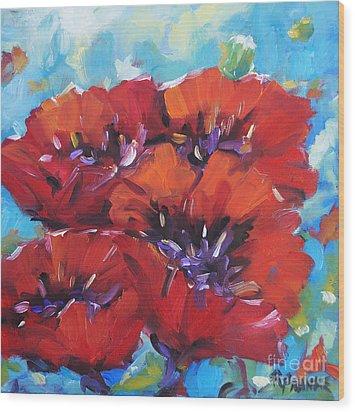 Amore By Prankearts Wood Print by Richard T Pranke
