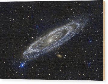 Andromeda Wood Print by Adam Romanowicz