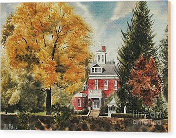 Antebellum Autumn II Wood Print by Kip DeVore