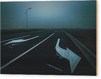 Apocalypse Wood Print by Tim Nichols