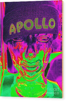 Apollo Abstract Wood Print by Ed Weidman