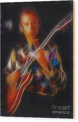 Asia-steve-gc24-fractal Wood Print by Gary Gingrich Galleries