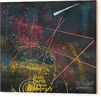Astronomie Wood Print by R Kyllo