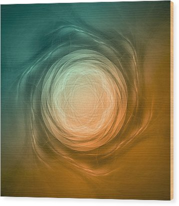 Atome-58 Wood Print by RochVanh