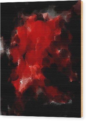 Auction F W 134  Wood Print by Sir Josef Social Critic - ART