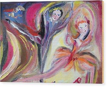 August Romance Wood Print by Judith Desrosiers