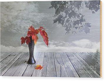 Autumn Still Life Wood Print by Veikko Suikkanen