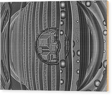 Backbeat Wood Print by Wendy J St Christopher