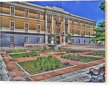 Ballaja Barracks Museum  Wood Print by Diosdado Molina