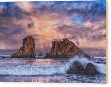 Bandon Beauty Wood Print by Darren  White