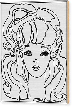 Barbie Doll Bd0000000001 Wood Print by Pemaro