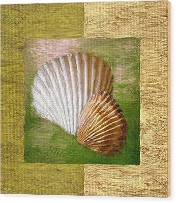 Beach Memoirs Wood Print by Lourry Legarde