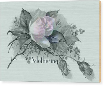 Beautiful Flowers For Mother's Day Wood Print by Sarah Vernon
