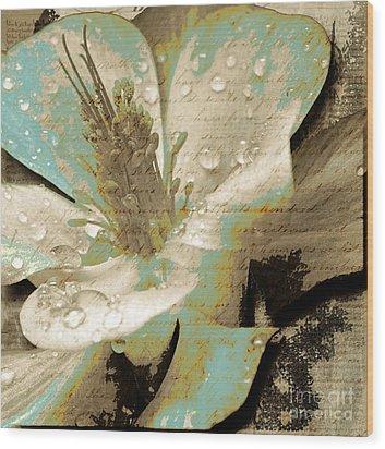 Beauty V Wood Print by Yanni Theodorou
