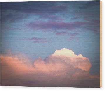 Before The Storm Wood Print by Robert J Andler