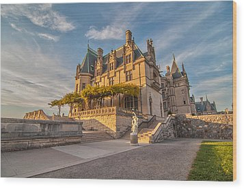 Biltmore Sunset Wood Print by Donnie Smith