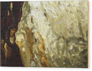Blanchard Springs Caverns-arkansas Series 03 Wood Print by David Allen Pierson