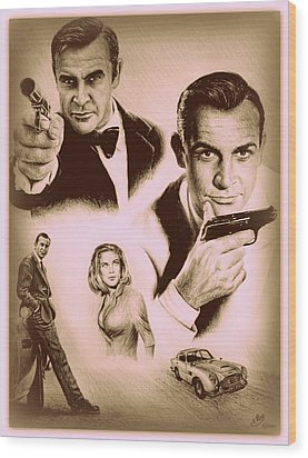 Bond The Golden Years Wood Print by Andrew Read