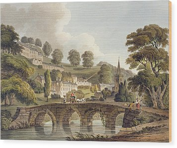 Bradford, From Bath Illustrated Wood Print by John Claude Nattes