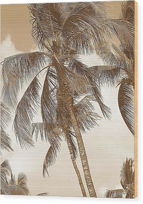 Breeze Wood Print by Athala Carole Bruckner