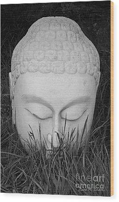 Buddha I Wood Print by Dave Gordon
